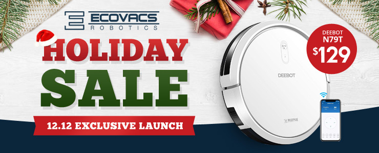 Ecovacs Holiday Sale $99 Buddy Deal