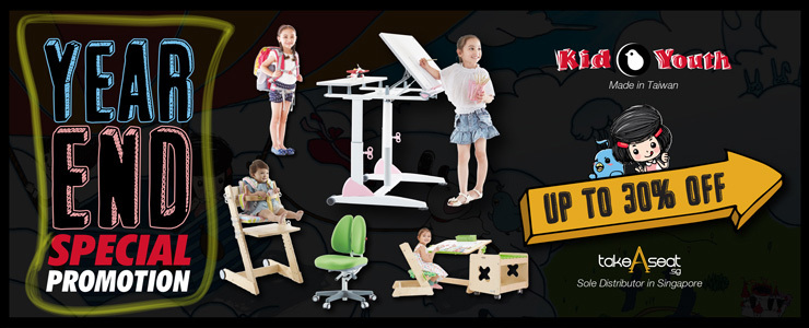 Year End Kids Ergonomic Special Promotion!