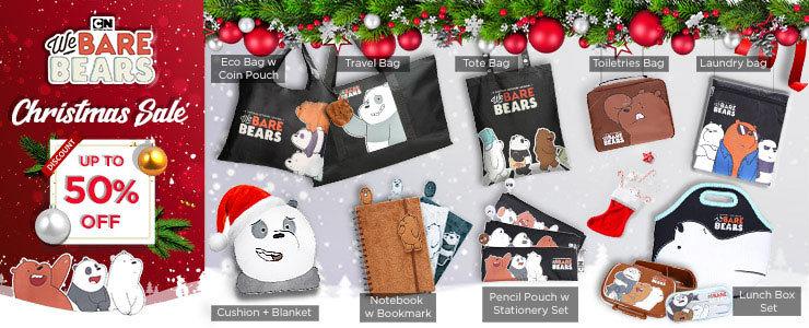 We Bare Bears Xmas Gifts!