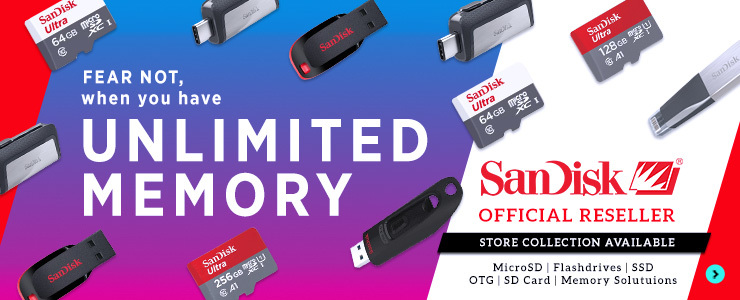 SANDISK OFFICIAL RESELLER