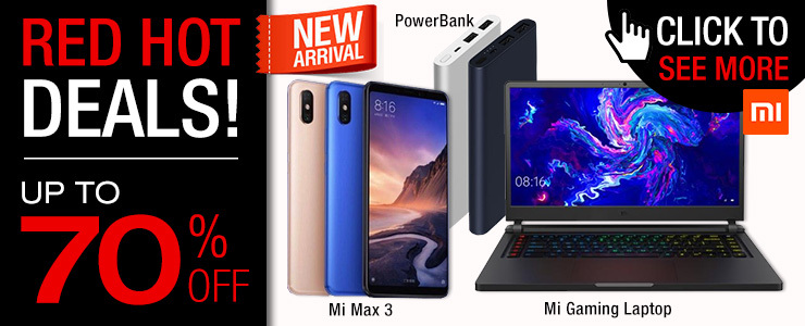 【Up to 70% OFF】Latest Xiaomi Products ➤