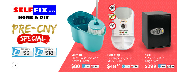 SELFFIX CNY SPRING CLEANING SALE