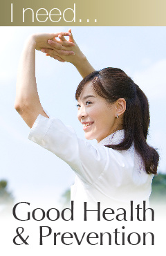 Good Health & Prevention