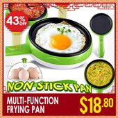 NON STICK PAN!Mini Non Stick Pot Fry Frying Pan/Multifunctional Mini Frying Pan/Mini Egg Cooker/Pancake Pan  for Kitchen Dinning Bar【M18】