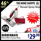 ★CHEAPEST★AUTHENTIC★Rubbermaid(K-RC-70-1500)Microfibre Spray Mop New Version All Floor Types Non-battery Operated Spray Trigger Durable Lightweight Material Household/Cleaning Local Stock