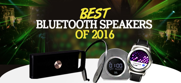 Best Bluetooth speakers of 2016