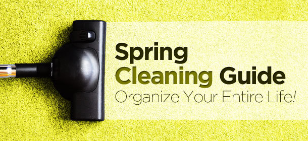 Spring Cleaning Guide!