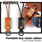 Remax Portable key chain cables☆Iphone5/5s/6/6s/6p cables☆Fast charge transfer☆Gifts for personal use creative design☆Charging Portable Charger Power Bank