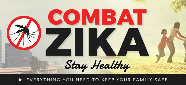 Combat Zika, Stay Healthy!