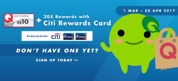 Citi | 20X Rewards with Citi Rewards Card