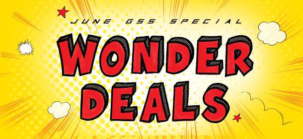 Wonder Deals, Wonder Price!