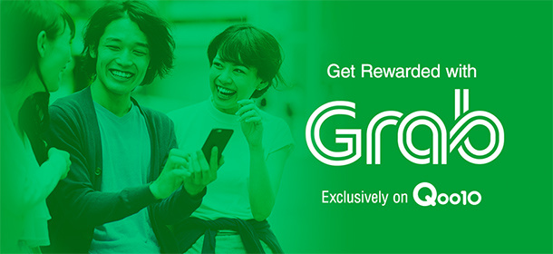 GRAB Rewards x Qoo10