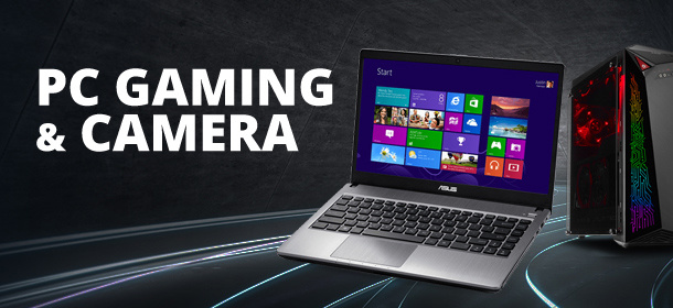 PC, Gaming & Camera