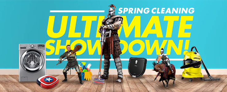 Spring Cleaning Ultimate Showdown