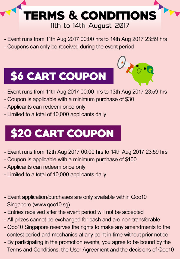Singapore discount coupons