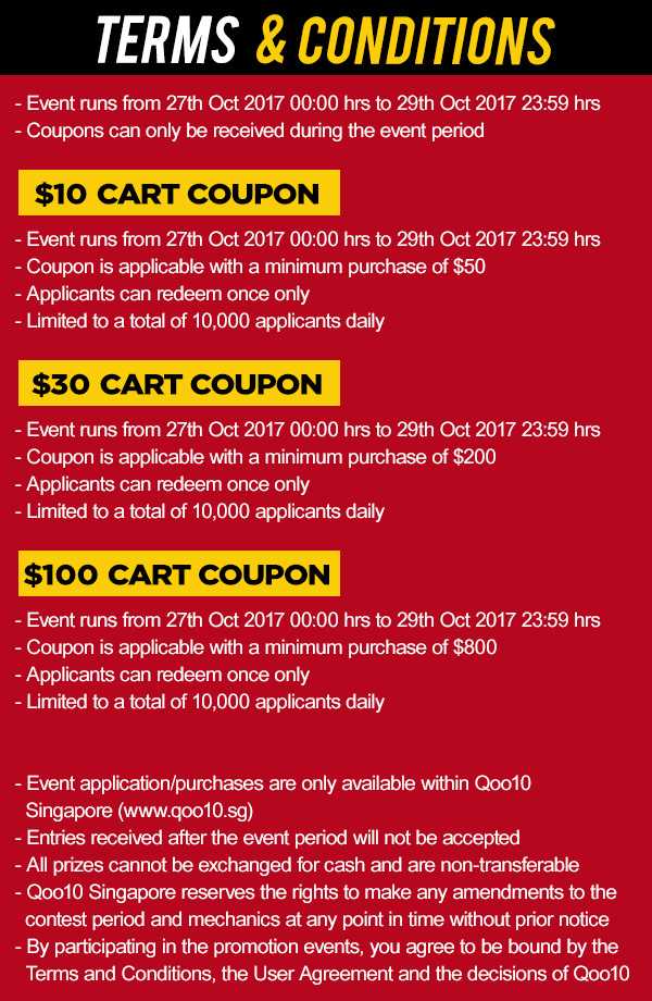 What to buy at Qoo10's Super Sale event that's happening from Oct 27