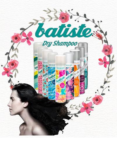 NO.1 in UK Batiste Dry Shampoo