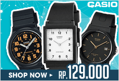 100% original Only 1 day_Classic Analog Watch ! Rp. 129.000 Only at Qoo10!