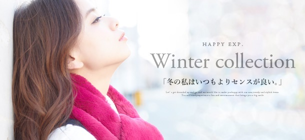 【Happy急便】Winter collection★