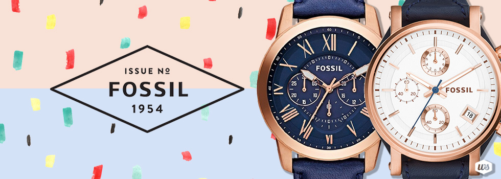 Image result for fossil watches banners