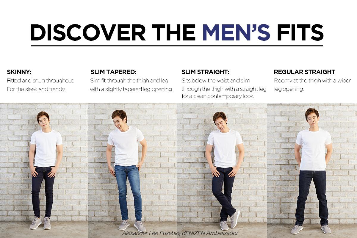 Discover the dENiZEN Jeans Fits