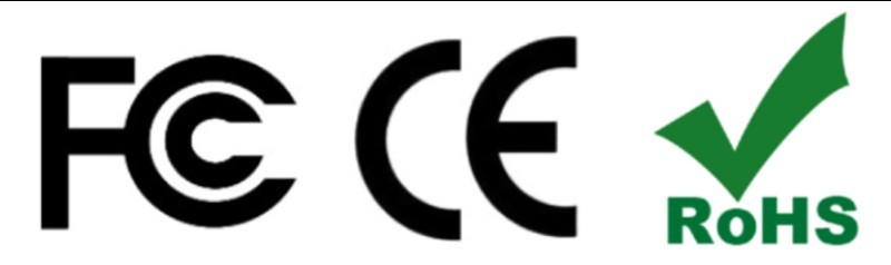 CE FCC RoHS SAFETY Certified