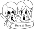 Rene and Bon