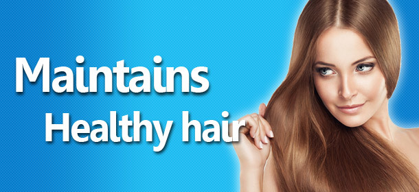 Maintains Healthy Hair