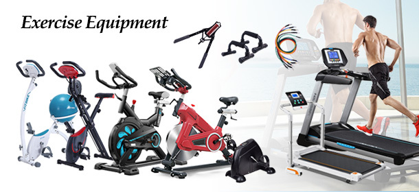 Exercise At Home With Our Exercise Equipment | Electric Treadmills | Foldable Stationary Bikes