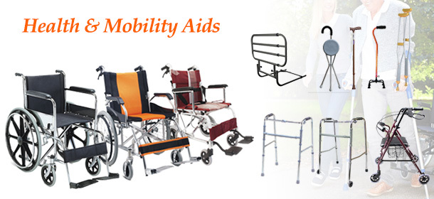 Health, Mobility Aids & Wheelchairs