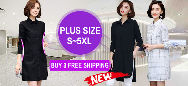 BEST SELLER! plus size S~5XL PREMIUM SHIRTS SLIM FIT // Office Wear / Good Quality