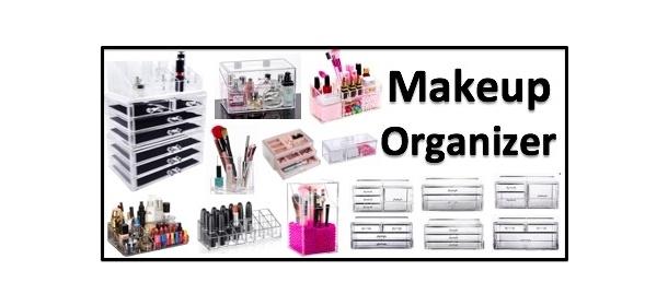 Acrylic Stackable Makeup Organizer Cosmetic Box