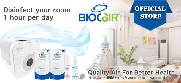 BioCair ® BC-65 Aerial Disinfection Ultimate Bundle
