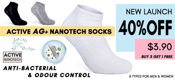 Nanotech Socks Launch Sale
