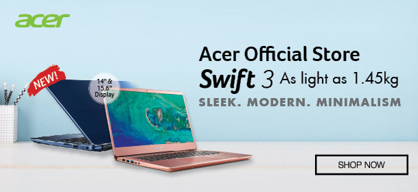 Acer Swift 3 - As light as 1.45KG