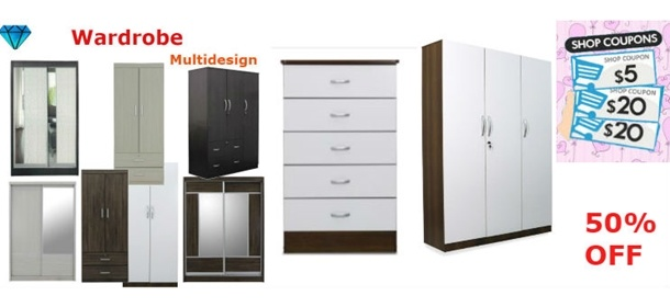 Promotion !!!  Wardrobe / Drawer / Table