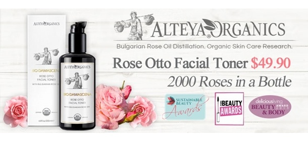 UP $49.50! ALTEYA Organic - 2000 Roses in a bottle