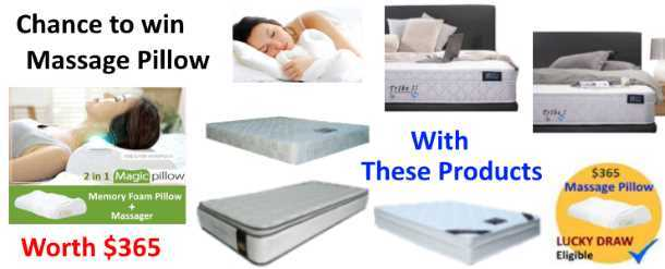 Lucky Draw Promotion Spring mattresses