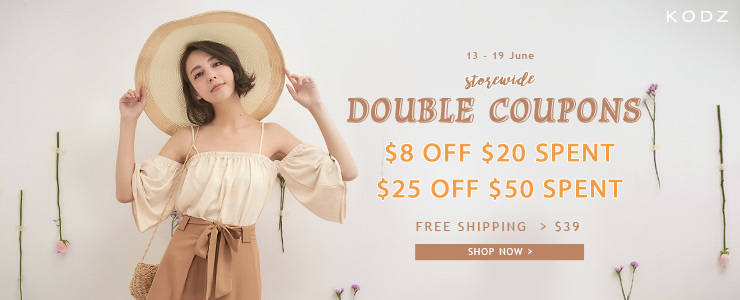 KODZ - $8 Off $20 / $25 Off $50 + Free Shipping > $29