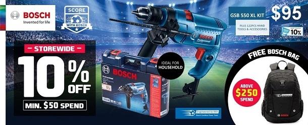 Bosch Power Tool Official Store Launch!