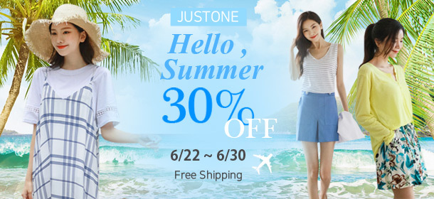 [JUSTONE] 30% SALE on SUPER SALE🧡