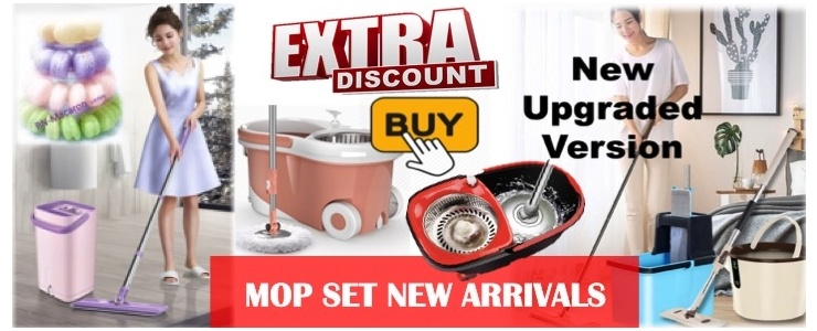 [SG Top Deals] Best seller of  Mop Set (Latest Technology)