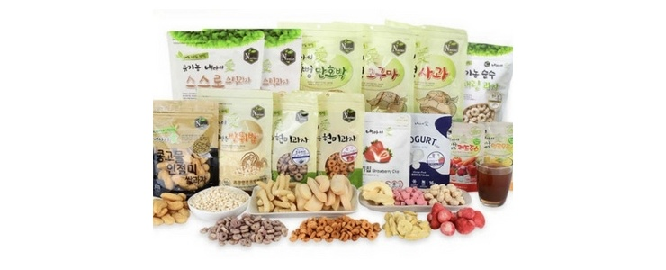 Korea No.1 Organic Rice Snack