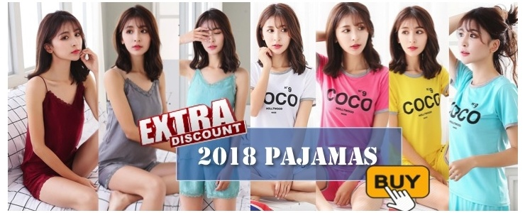 Pajamas Nightwear 2018