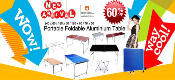 2018 New Year foldable table Big Sales