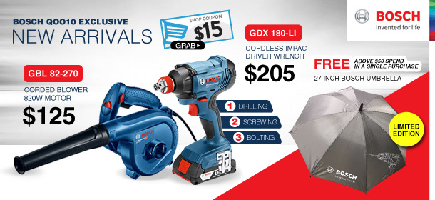 Bosch Power Tool Official Store Launch!