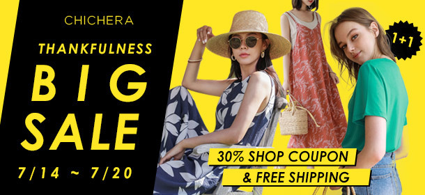 [CHICHERA] Thankfulness BIG Sale ! 30% Shop Coupon ★ Free Shipping & Happy Price