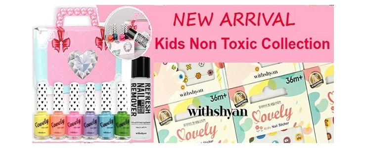KIDS NON TOXIC NAIL POLISH AND STICKERS
