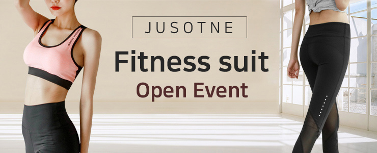 [JUSTONE] FITNESS SUIT OPEN