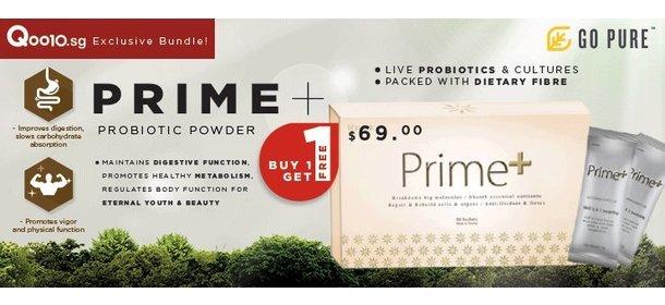 Prime+ Prebotics